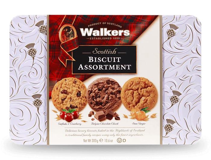 Scottish Biscuit Assortment Tin