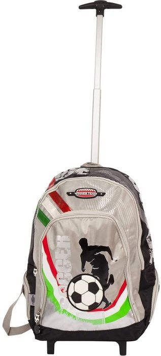 18 Inch Italy Kids Wheeled Travel Backpack Rucksack for Holidays