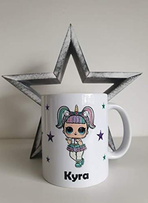 CHEAP! Personalised Surprise Lol Doll Mugs