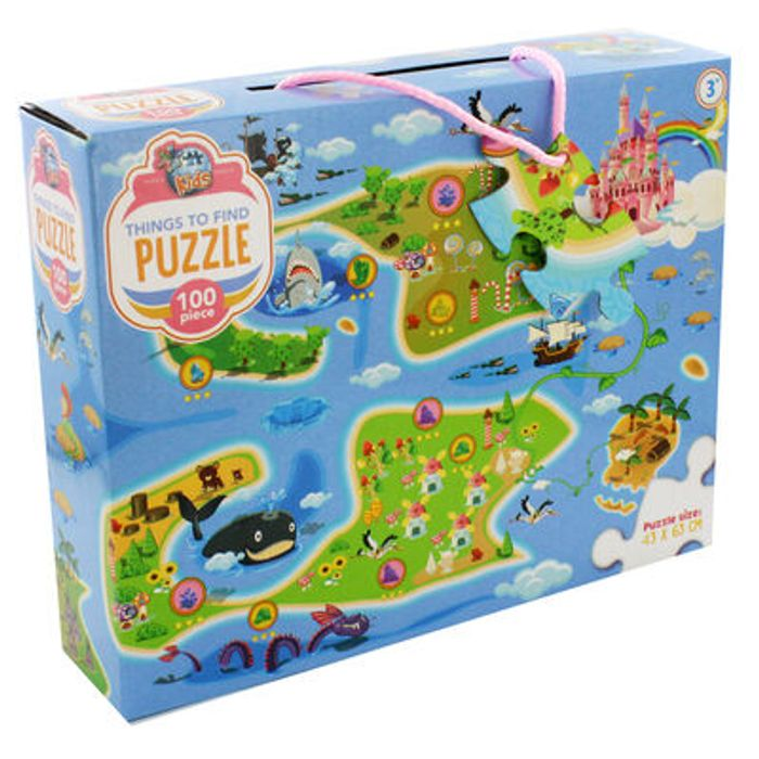 CHEAP! 50% OFF Things to Find Fairytale 100 Piece Jigsaw Puzzle