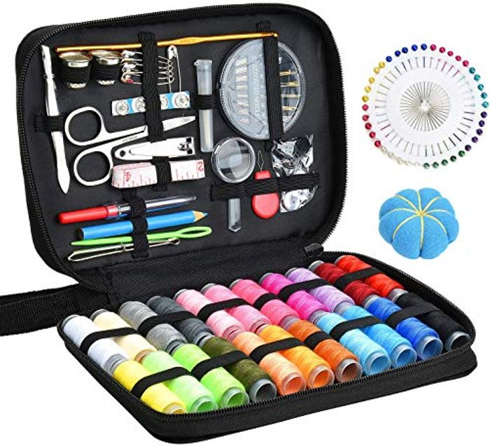 Sewing KIT 126 Pcs DIY Sewing Supplies with 22-Color
