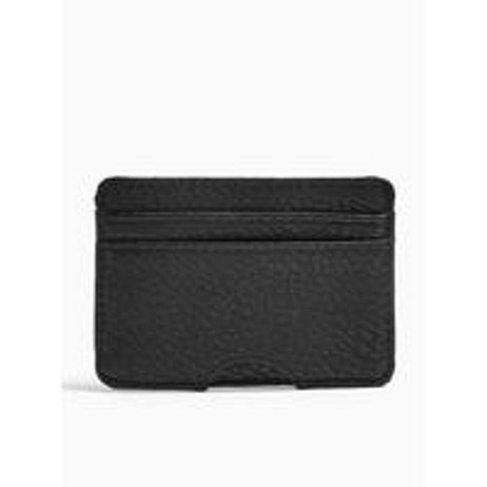 Topman Classic PU Cardholder - Black at Very