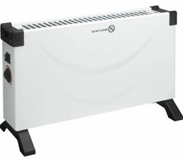 2KW Electric Portable Convector Heater - £11.99 Delivered
