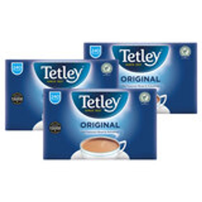 Tetley Tea Bags, 3 X 240 Pack