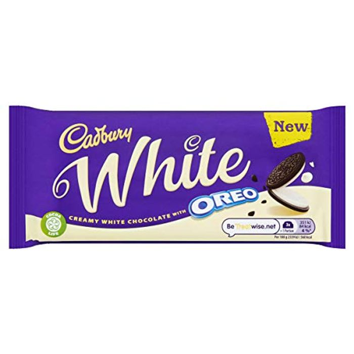 (Pre-Order) Cadbury Oreo White Chocolate Bar 120g