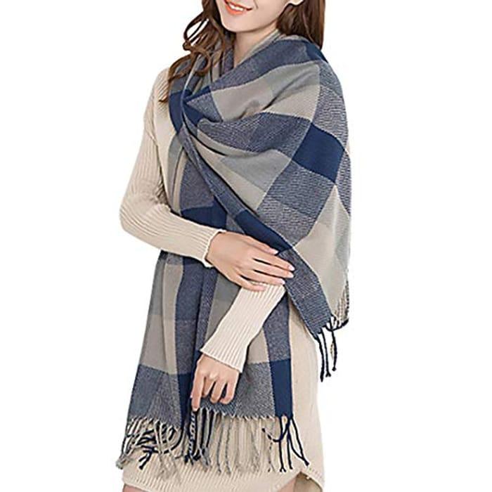 Miss Lulu Women Scarves Winter Long Soft