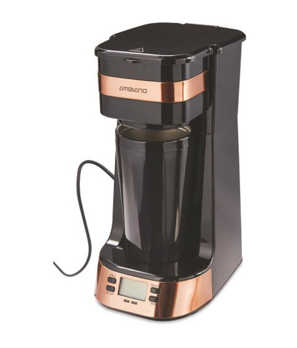 Ambiano Rose Gold Coffee to Go - Only £16.99!