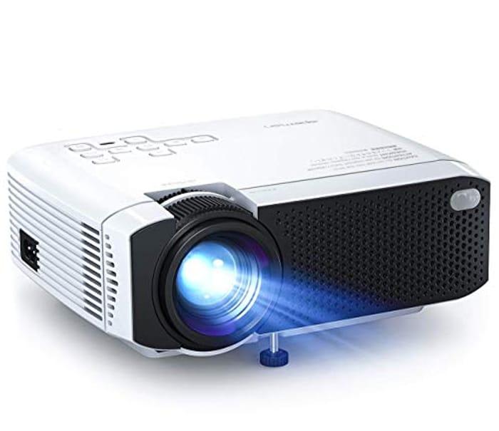 Mini Projector 4500 Lumens Supports 1080P