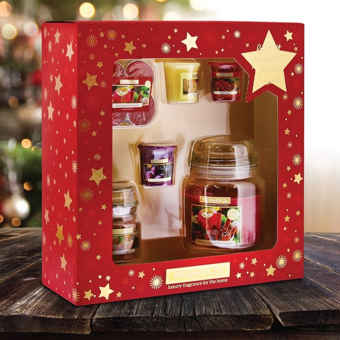 17 Piece Wickford Candle Set at Home Bargains
