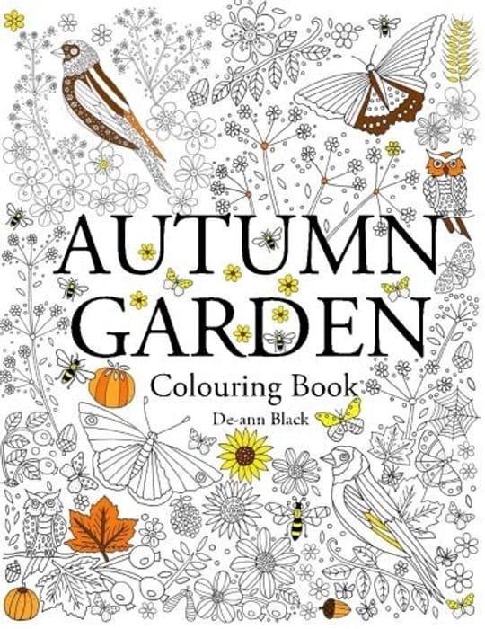Adult Autumn Garden Colouring Book