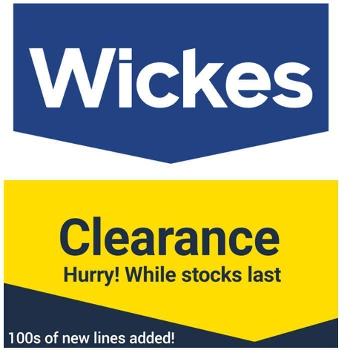 WICKES - Wickes Clearance Deals