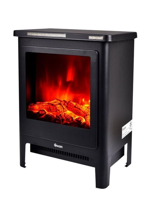 *SAVE £32* Swan Electric Stove - Black
