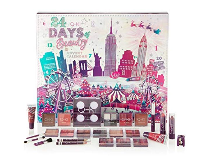 Best price! Q-KI New York 24 Days of Beauty Advent Calendar 2019