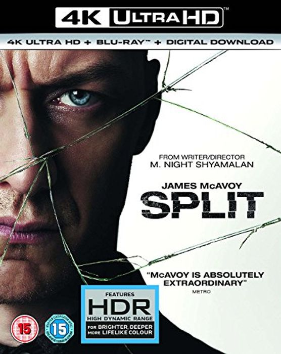 Split 4K UHD [Blu-Ray] [2017]