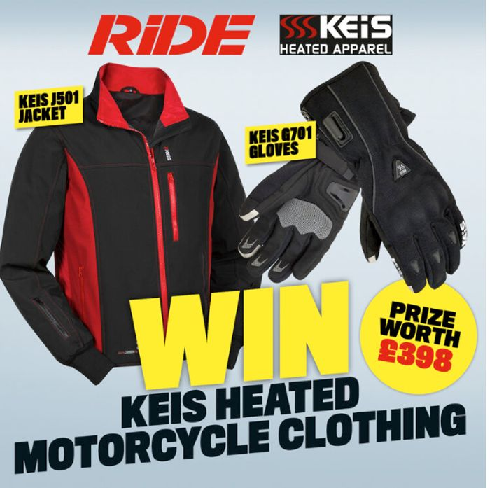 Win Keis Heated Motorcycle Clothing worth £398