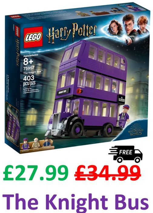 LEGO HARRY POTTER KNIGHT BUS. Amazon Price £27.99 + Free Delivery, Save £7
