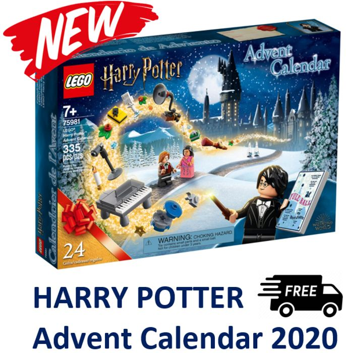 LEGO HARRY POTTER Advent Calendar 2020 (75981) + FREE DELIVERY