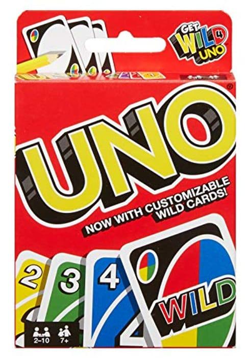 Uno Card Game - 1/2 Price