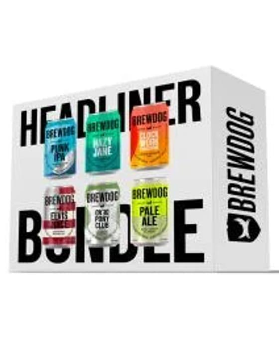 48 X Cans of Brewdog Headliners Beers