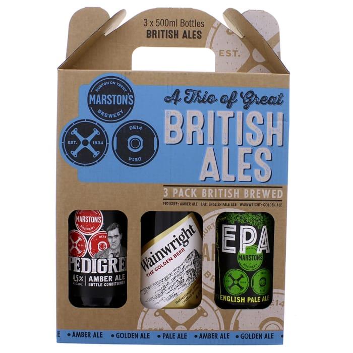 A Trio of Great British Ales