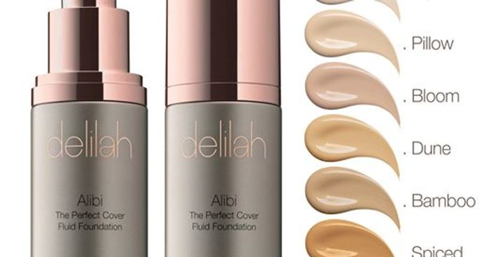 Free Foundation Samples from Delilah Cosmetics