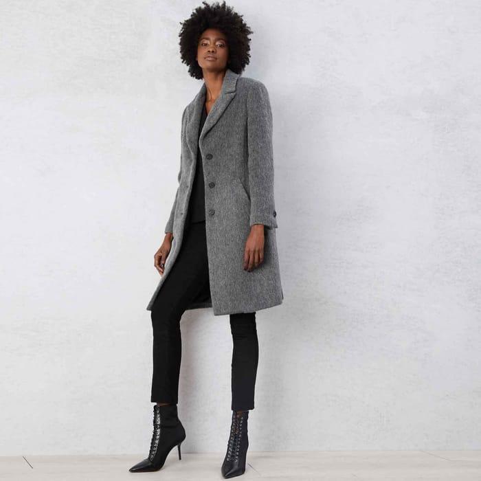 James Lakeland-Grey 3 Button Luxury Coat  ( Sizes 14 & 16 )