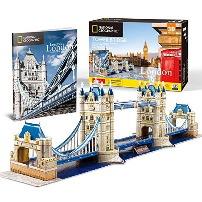CubicFun 3D Jigsaw Puzzle  London Bridge (Code & 5% Voucher)