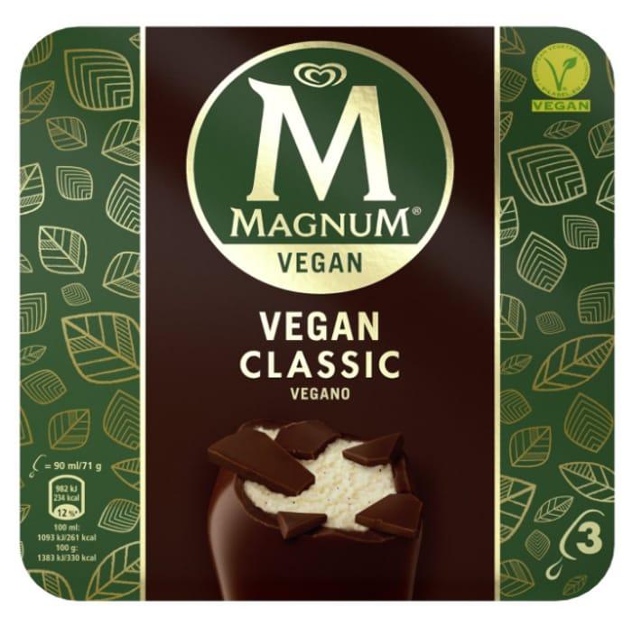 Cheap Magnum Vegan Classic Ice Cream - Only £2!