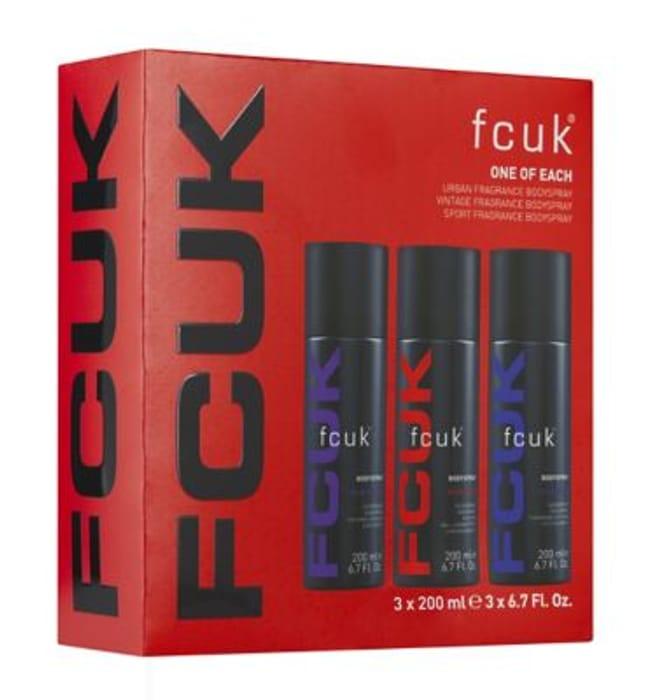 FCUK One of Each Christmas Gift Set