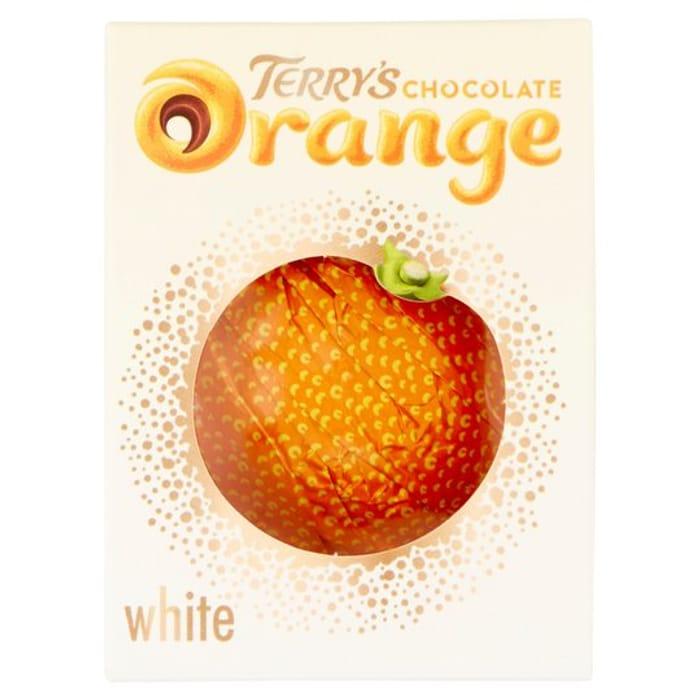 Terrys Chocolate Orange White 147G