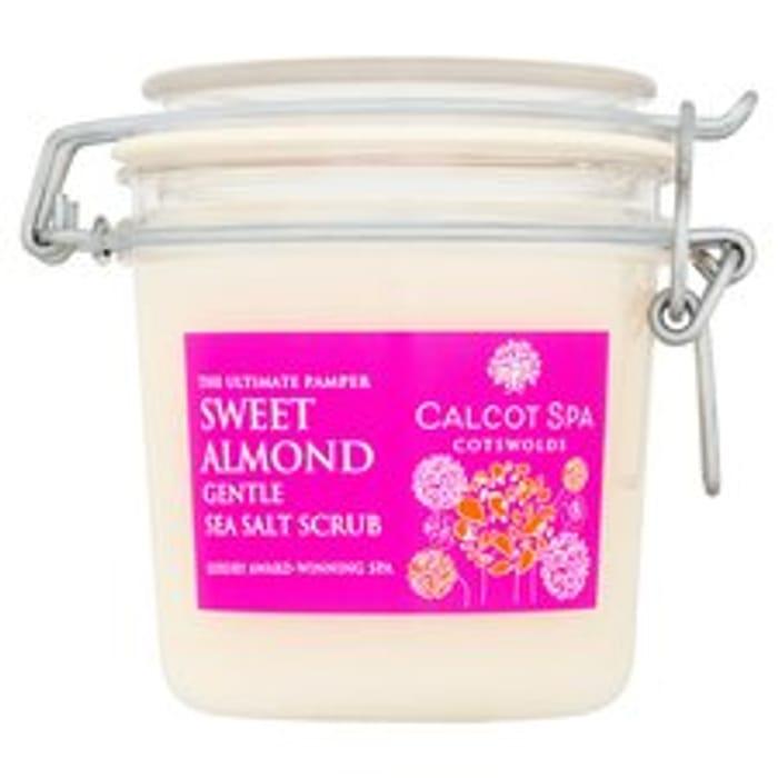 Calcot Manor Sweet Almond Sea Salt Scrub 350Ml