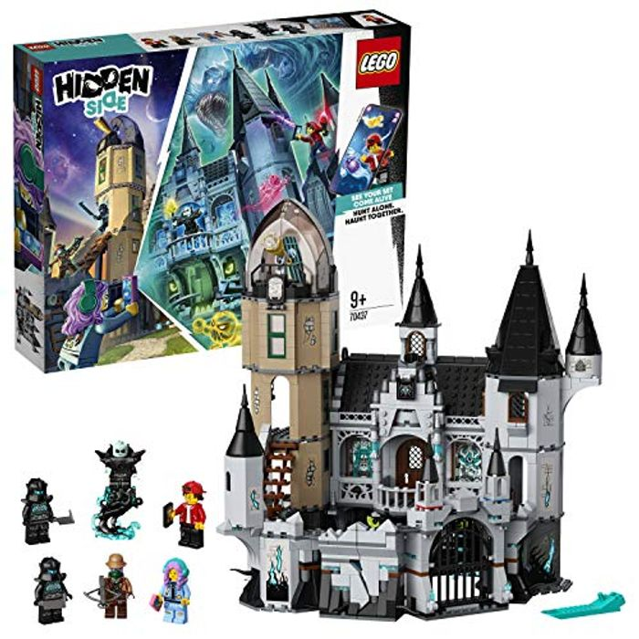 LEGO 70437 Hidden Side Mystery Castle Toy, AR Games App