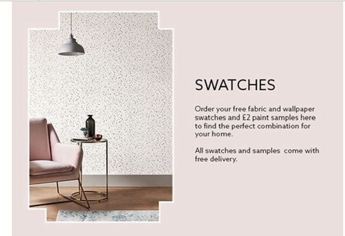 Free Swatches from Next