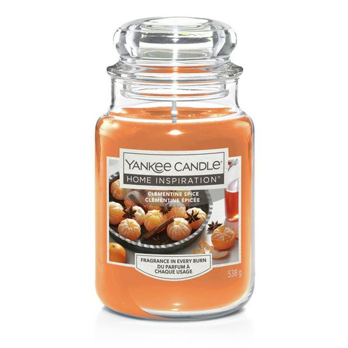 Yankee Large Jar Candle - Clementine Spice