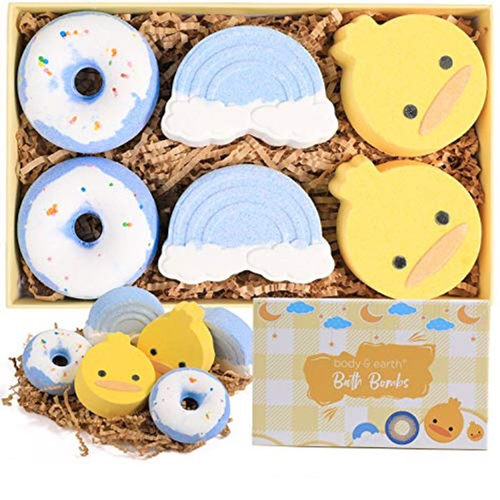 Body & Earth Handmade Bath Bombs - 6pcs