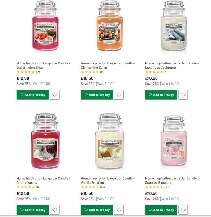 More Argos Yankee Candle Deals