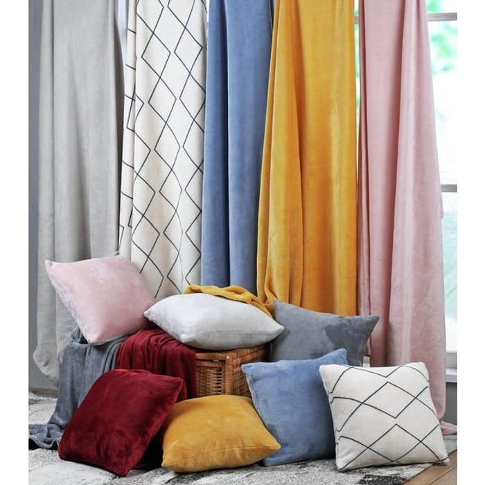 Argos Home Super Soft Fleece Cushion - Stone - Only £3.75!