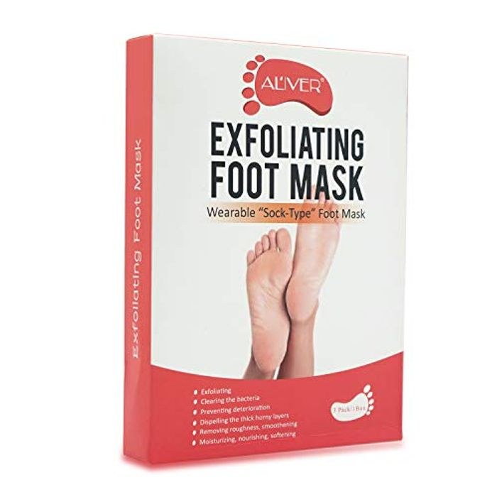 DEAL STACK - Maycreate Foot Peel Mask for Cracked Heels + 40% Coupon