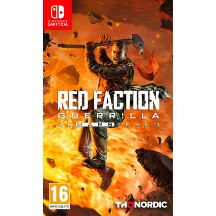 [Nintendo Switch] Red Faction Guerilla Re-MARS-Tered - Only £10.95!