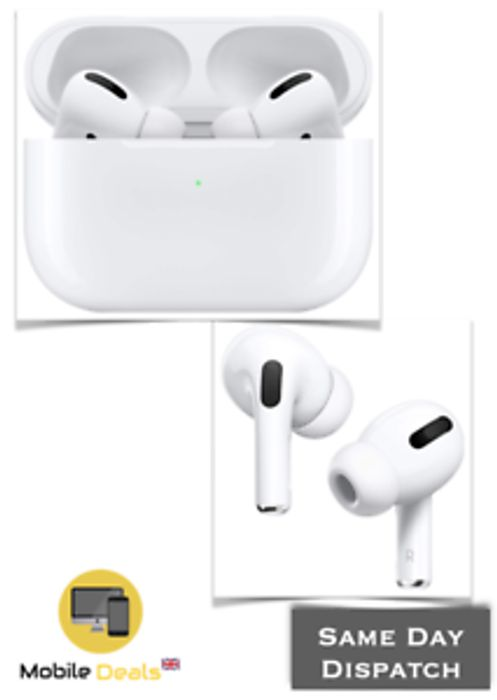 New Apple AirPods Pro - Noise Cancellation Headphones - Only £185.24!