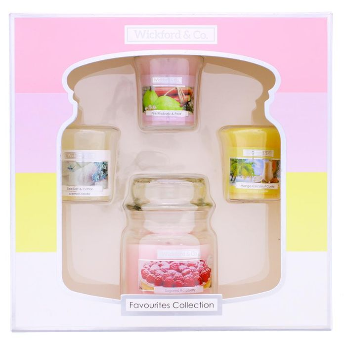Wickford & Co. 4 Piece Candle Gift Set