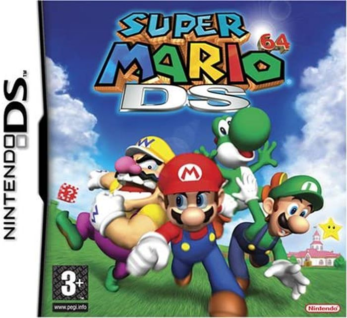 Super Mario 64 DS (3DS/DS) (Cartridge Only)