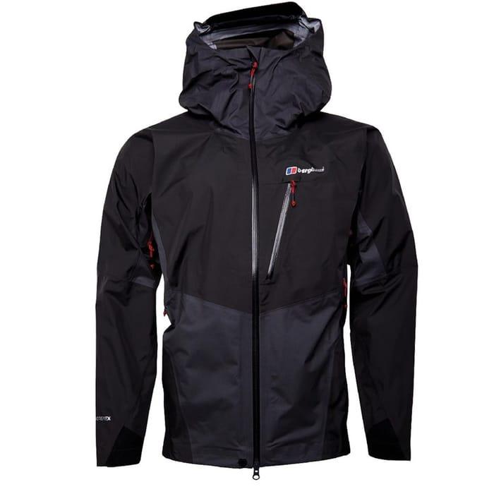 CHEAP! Berghaus Mens Extrem GORE-TEX Waterproof Jacket Black/Dark Grey
