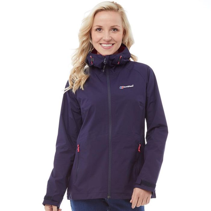 Best Price! Berghaus Womens Stormcloud Hydroshell Jacket Evening Blue