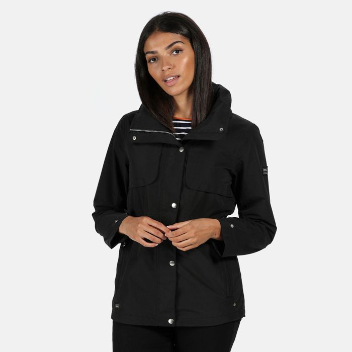 Cheap Regatta - Black 'Narelle' Waterproof Jacket - Only £45!