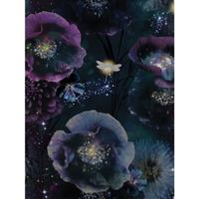 ARTHOUSE Nocturnal Purple & Teal Wallpaper