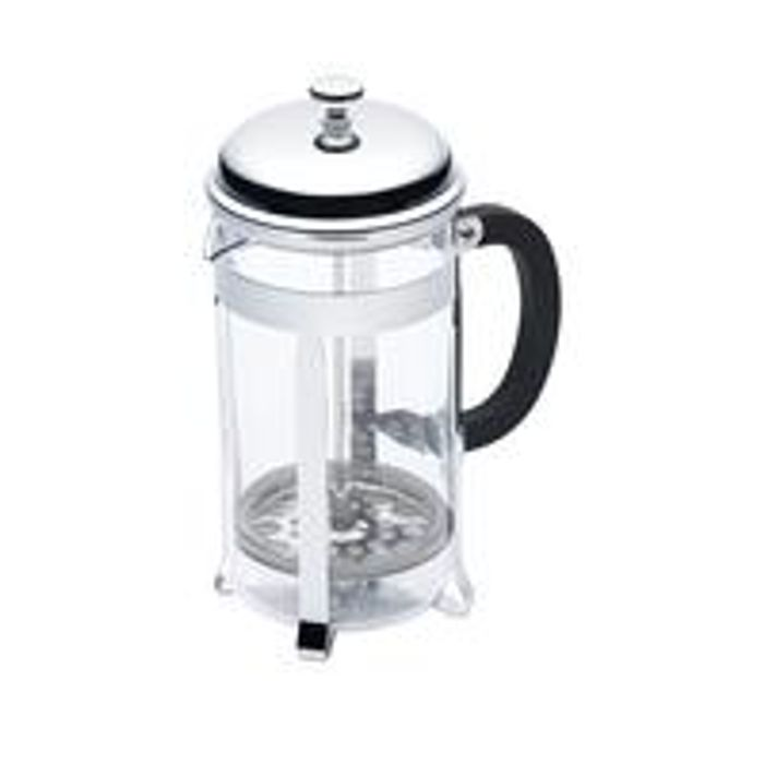 KitchenCraft Stainless Steel 8-Cup 1-Litre Cafetire