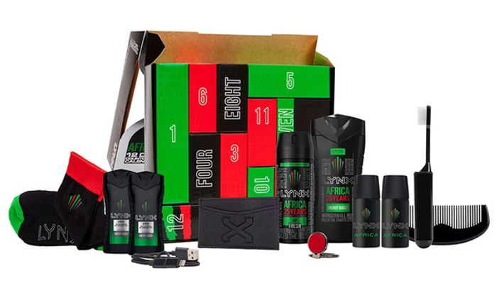Lynx Build up Africa Countdown Gift Set