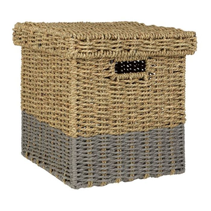 Argos Home Seagrass Box with Lid