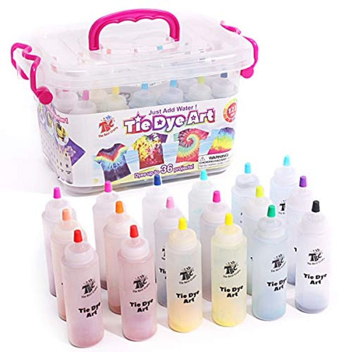 DEAL STACK - TBC the Best Crafts Tie-Dye Art Kit + Lightning + 6% Coupon